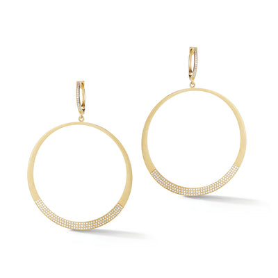 Circle Statement Earrings