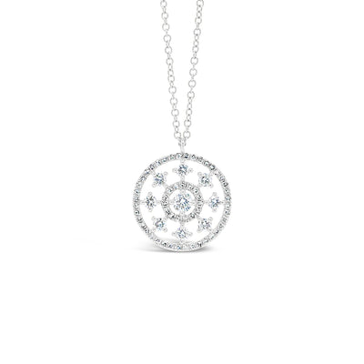 Intricate Diamond Pendant