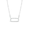 Diamond Open Link Pendant