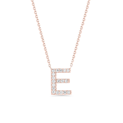 Personalized Diamond Initial Necklace