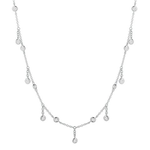 Diamond Fringe Necklace