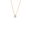 Diamond Teardrop Cluster Necklace