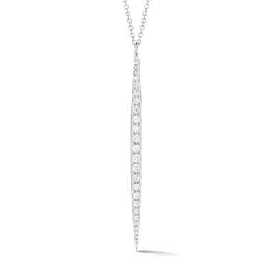 Diamond Dagger Pendant Necklace
