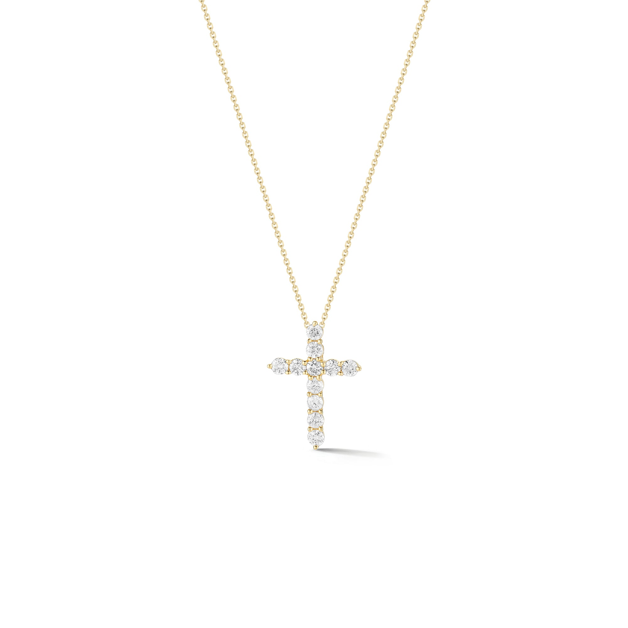 Diamond Small Cross Pendant