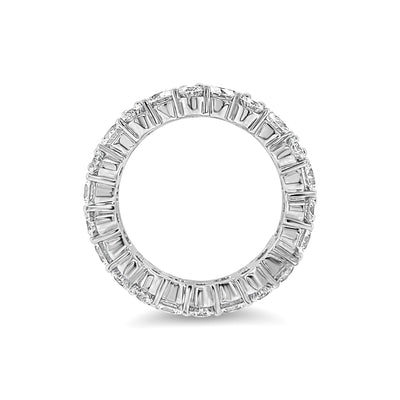 Staggered Diamond Eternity Band Lg