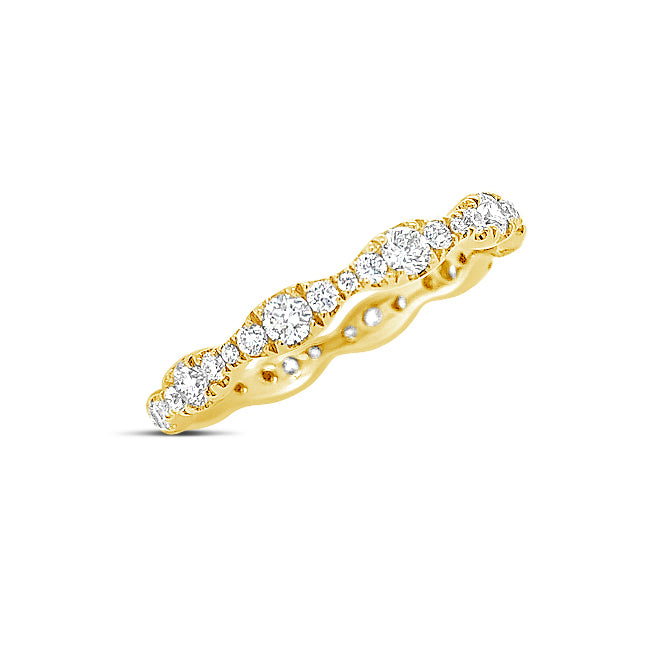 Diamond Stacking Eternity Ring