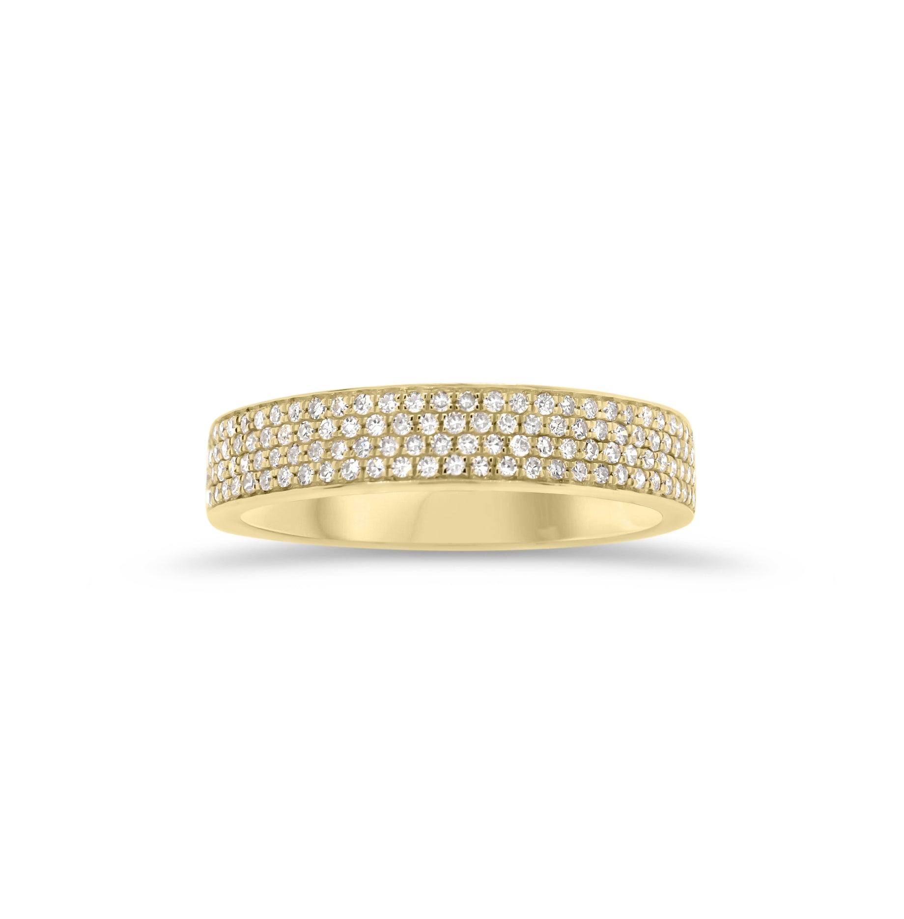 Pave Diamond Stackable Ring