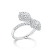 Diamond Cushion Bypass Ring