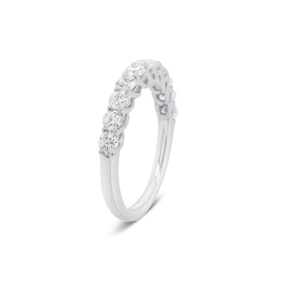 11-Stone Diamond Wedding Band