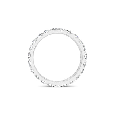 Four Prong-Set Diamond Eternity Band