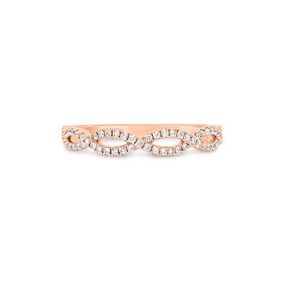 Petite Diamond Infinity Ring
