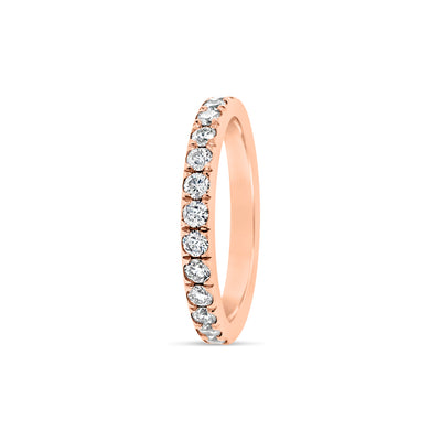 Comfort Fit Diamond Eternity Band Ring