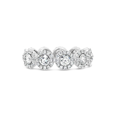 Circular Diamond Eternity Ring