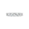 7 Stone Diamond Wedding Band