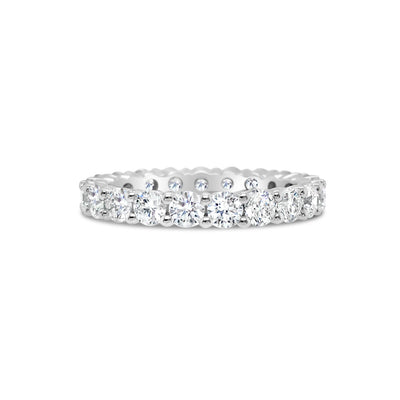 Classic Shared Prong-Set Diamond Eternity Band