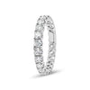 Simple Four Prong-Set Diamond Eternity Band
