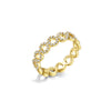 Diamond Circle Eternity Fashion Ring