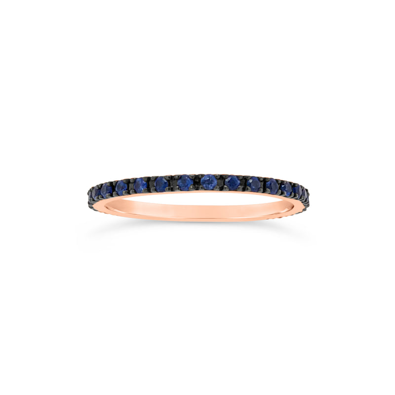 Simple Sapphire Eternity Band