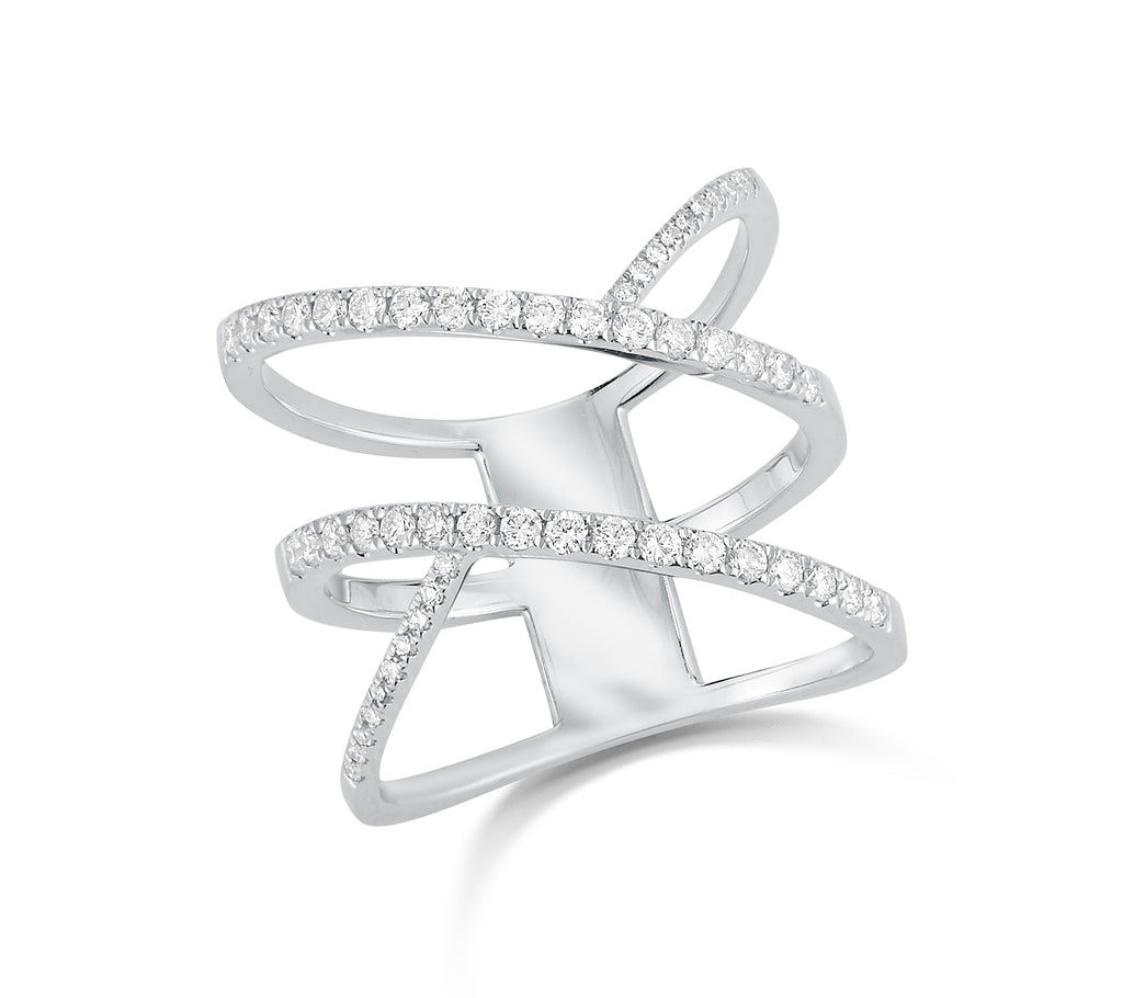 Crossover Fashion Ring