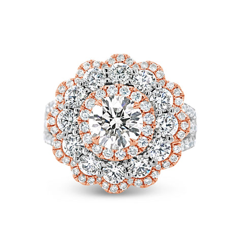 Diamond Carnation Ring