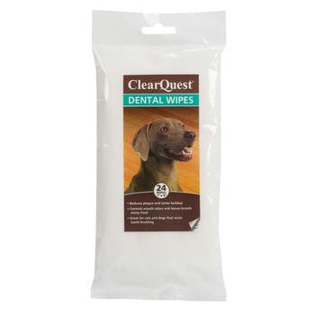 Clearquest Pet Dental Wipes PRS# 58845  	100 Pack