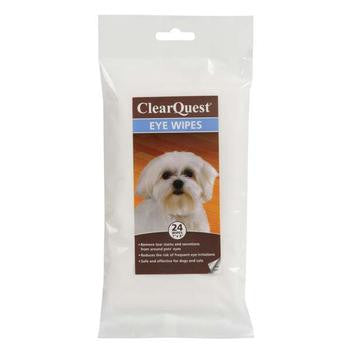 ClearQuest Pet Eye Wipes      PRS# 58846         24 Pack