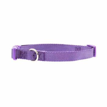 "Nylon Dog Collar by Zack & Zoey - Ultra Violet PRS# 2283     14""-20"""