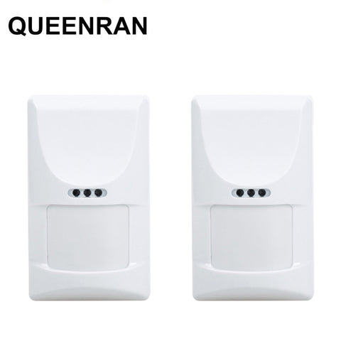 2pcs Indoor Pet PIR 433MHz Anti-tamper Motion Sensor Low Power Consumption for GSM PSTN Alarm System KR-8218G,G18,G19,G90B