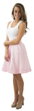Sydney Skirt- Light Pink- Poly Shantung Lined