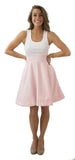 Sydney Skirt- Rose Water- Poly Satin Lined