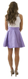 Sydney Skirt- Light Lavender- Cotton Sateen Unlined