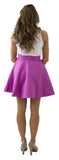 Sydney Skirt- Sangria- Poly Satin Lined