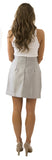 Charlotte Skirt- Gray- Cotton Sateen Unlined