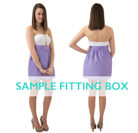 Aly Scallop Skirt Size Run