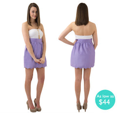 The Aly Scallop Sorority Skirt