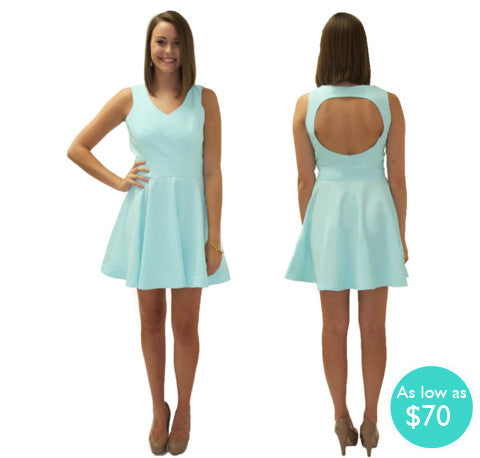 The Audrina Circle Back Sorority Dress