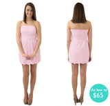 Jessica Scallop Sorority Dress