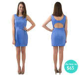 The Savannah Open Back Sorority Dress
