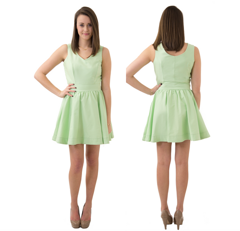 df24fa08c07a Pre-Order  Kristyn V-Neck Dress Made-to-Order – Frill Clothing
