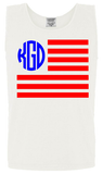 Comfort Colors American Flag Tank