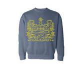 Comfort Colors Crest Crewneck Sweatshirt