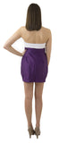 Charlotte Skirt- Plum- Poly Satin Unlined