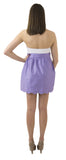 Aly Scallop Skirt- Dark Lavender- Cotton Sateen Unlined