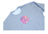 Sweatshirt with Fabric Monogram