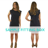 Talena Scallop Dress Size Run