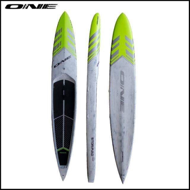 "ONE SUP - STORM 2.0 14' x 23"" Carbon - Green/Silver"