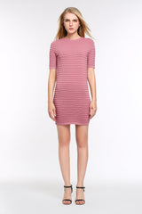 Ribbed Bodycon Dress 1506302 PINK
