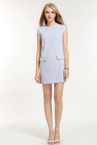 CHLOE DRESS 1603201 LAVENDER BLUE