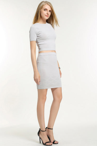 LORRAINE TWO PIECES  DRESS BOTTOM 1606307 GREY