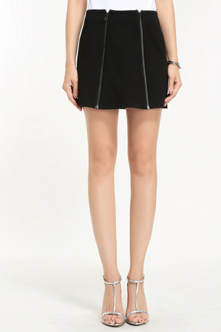 ASYMMETRICAL MINI SKIRT 1602114